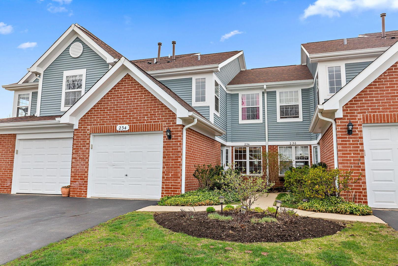 234 MANSFIELD Way #234, Roselle, IL 60172 - #: 11050572