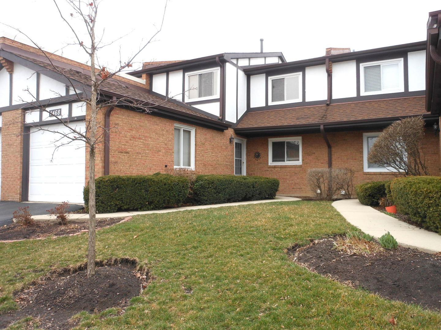 1468 Circle Court #1468, Elk Grove Village, IL 60007 - #: 10673578