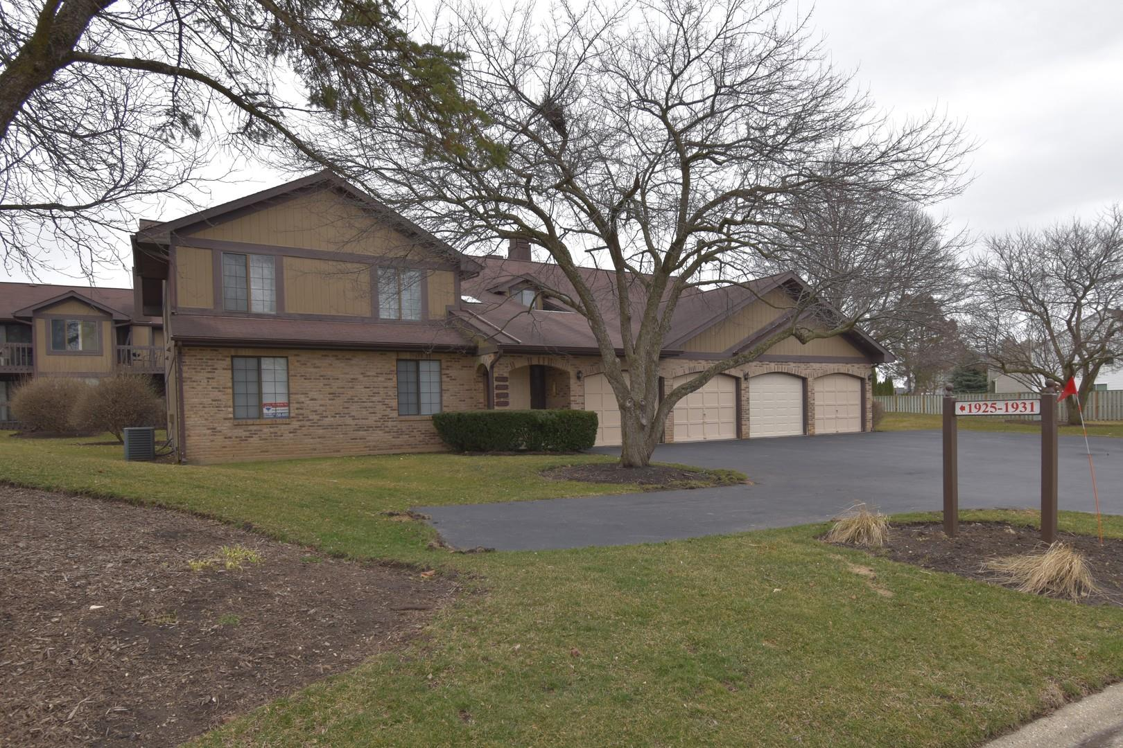 1925 Golf View Drive #1A, Bartlett, IL 60103 - #: 10665595