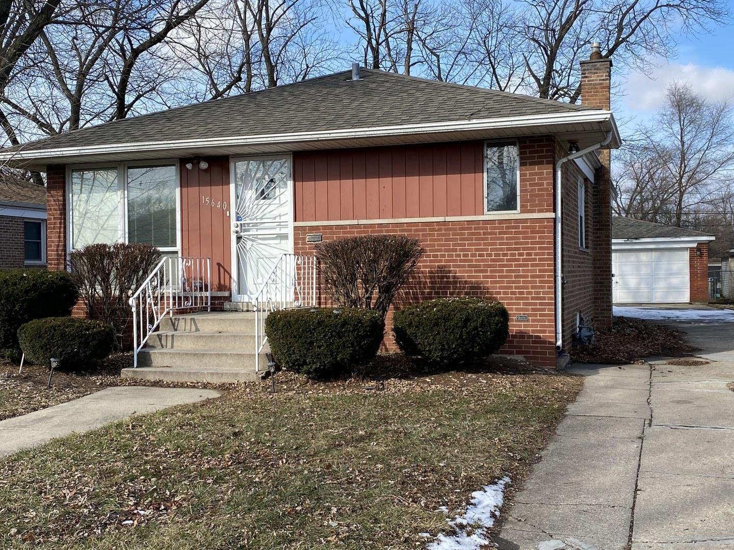 15640 Rose Drive, South Holland, IL 60473 - #: 10801611