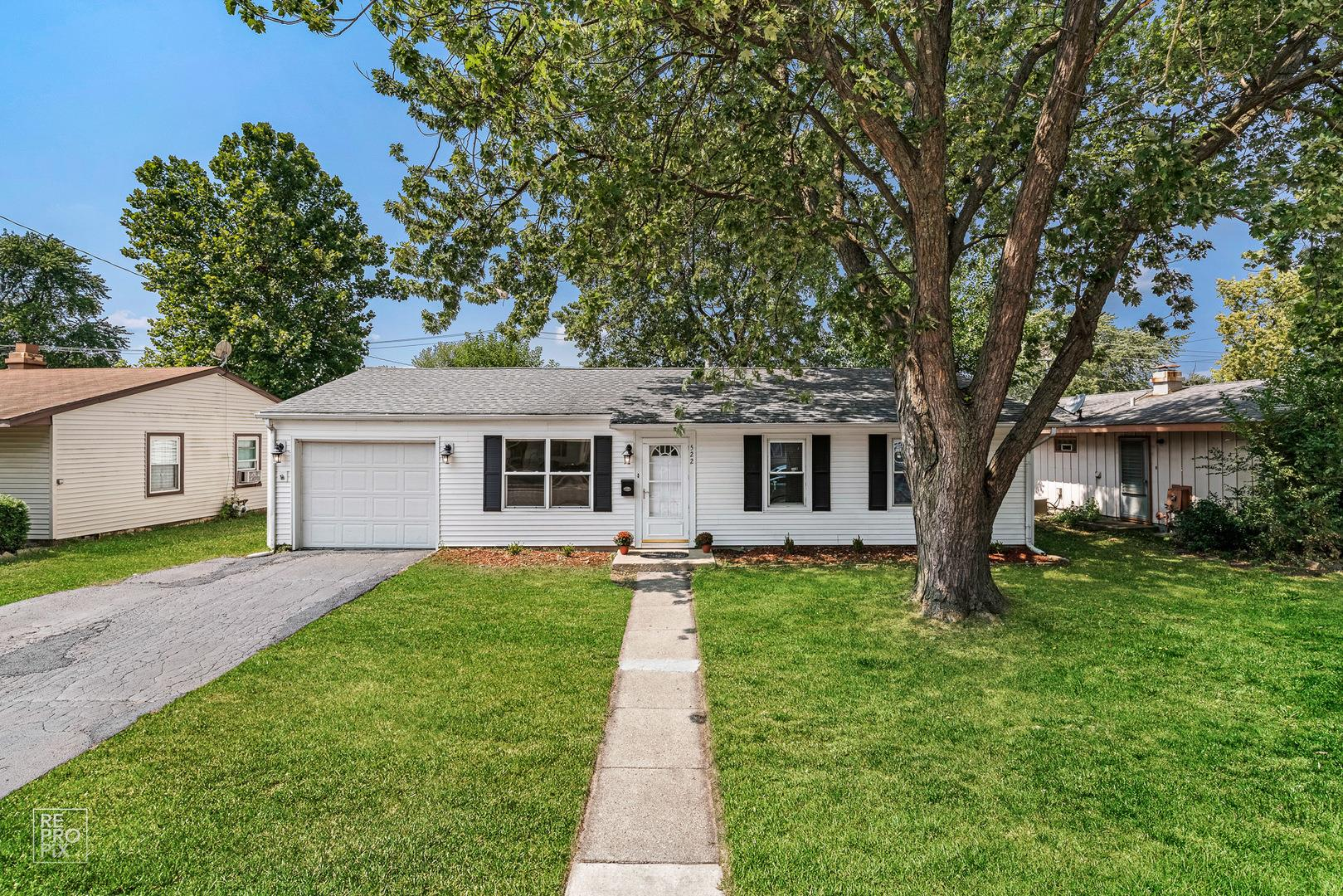 522 Everette Avenue, Romeoville, IL 60446 - MLS#: 10838622