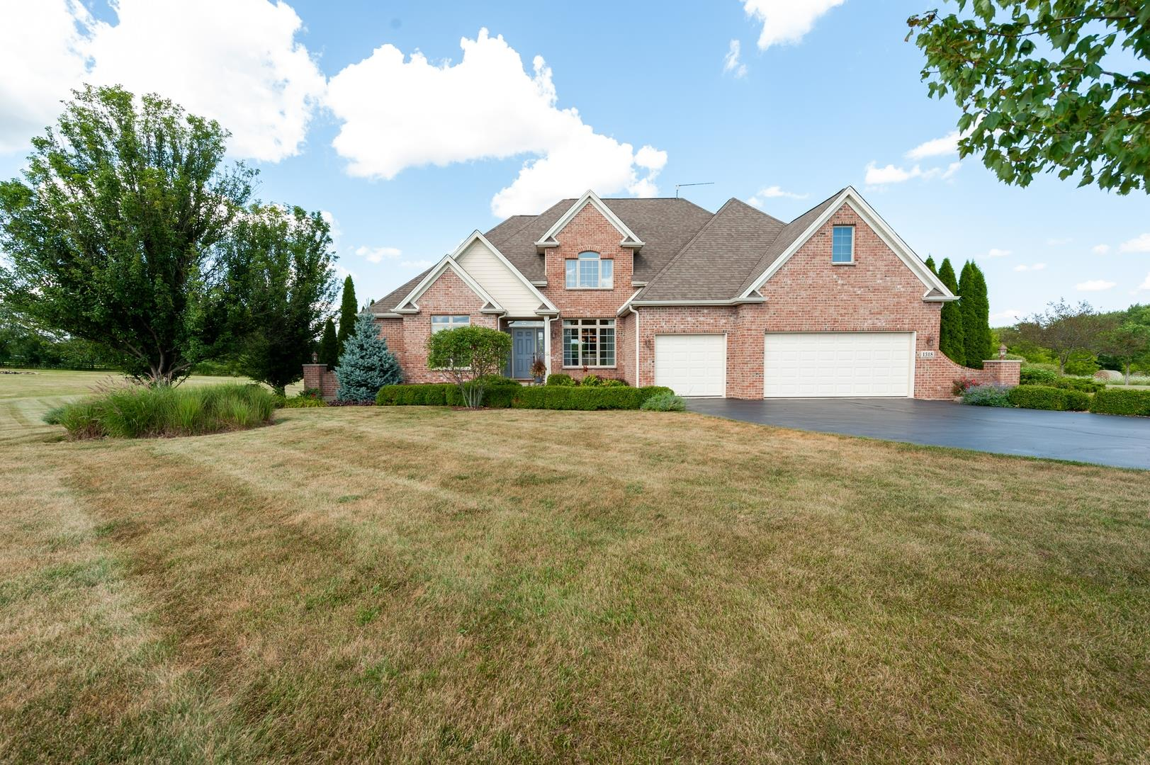1318 SAVANNAH Lane, Woodstock, IL 60098 - #: 10820623
