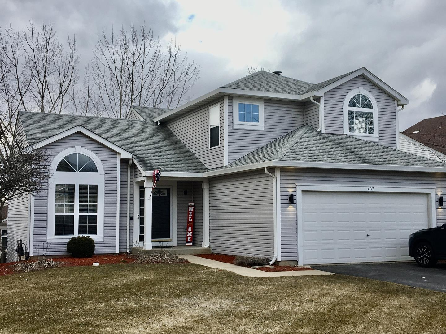 437 Big Cloud Pass, Lake in the Hills, IL 60156 - #: 10653626