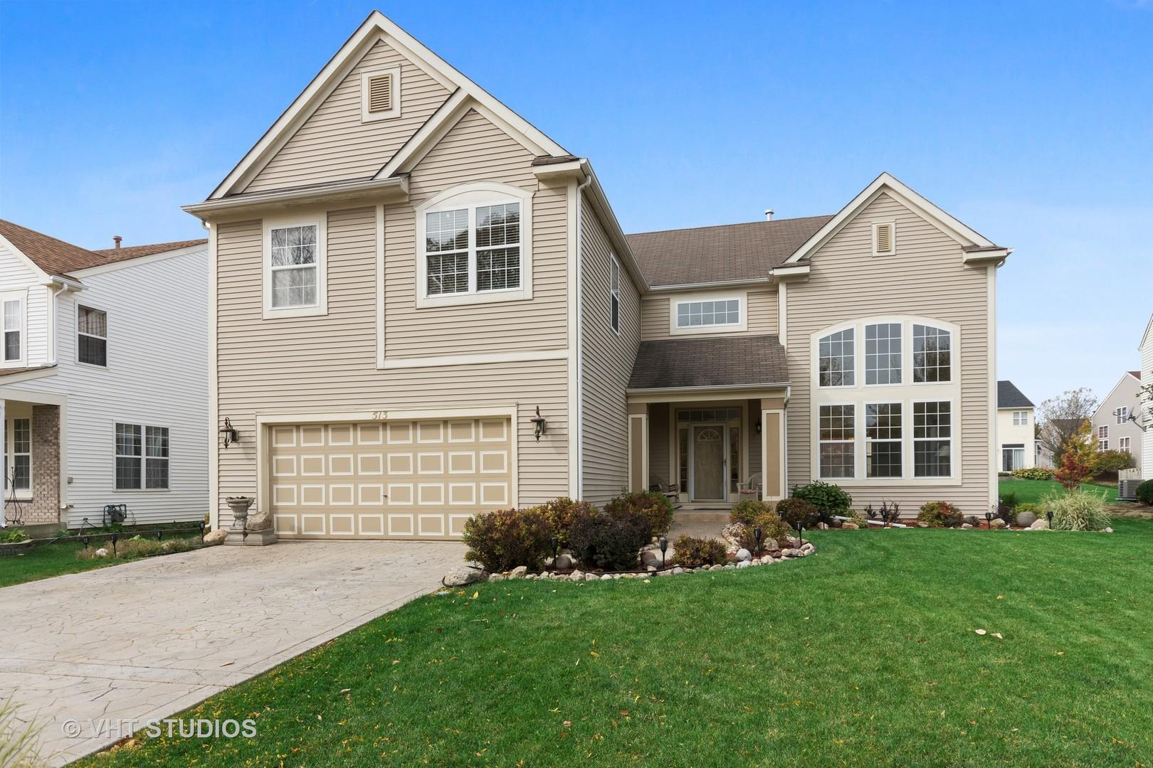 513 Hamilton Lane, North Aurora, IL 60542 - #: 10908626