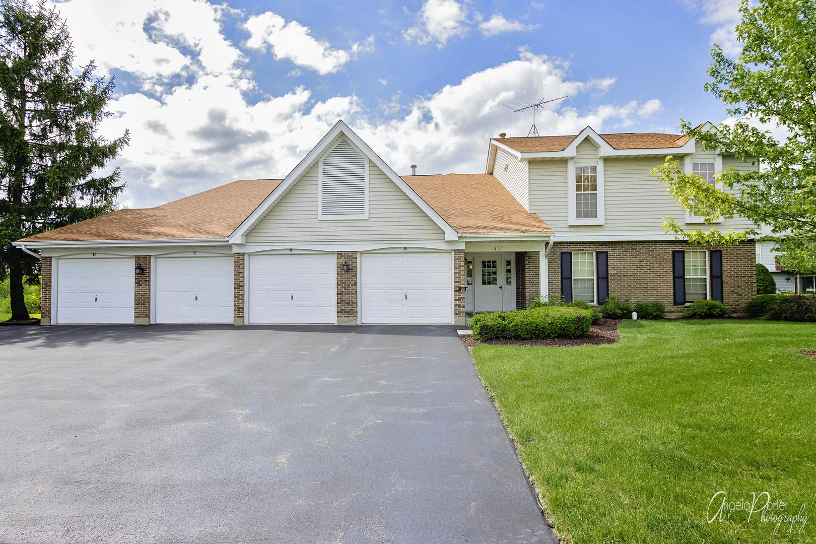 311 Creekside Trail #C, McHenry, IL 60050 - #: 10732630