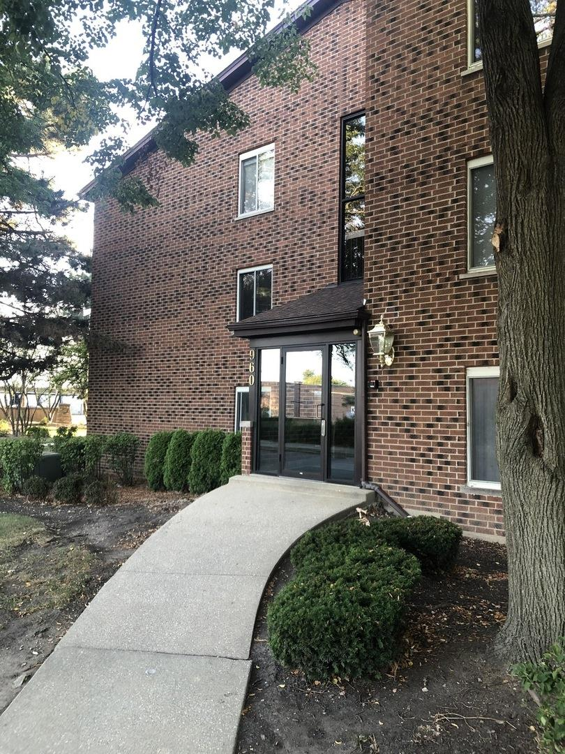 960 PERRIE Drive #201, Elk Grove Village, IL 60007 - #: 10854635