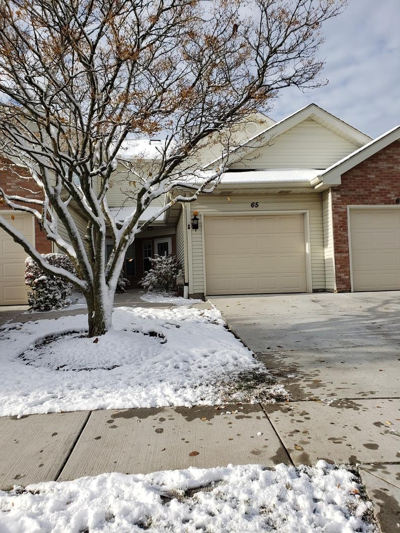 65 S Golfview Court #65, Glendale Heights, IL 60139 - #: 10567647