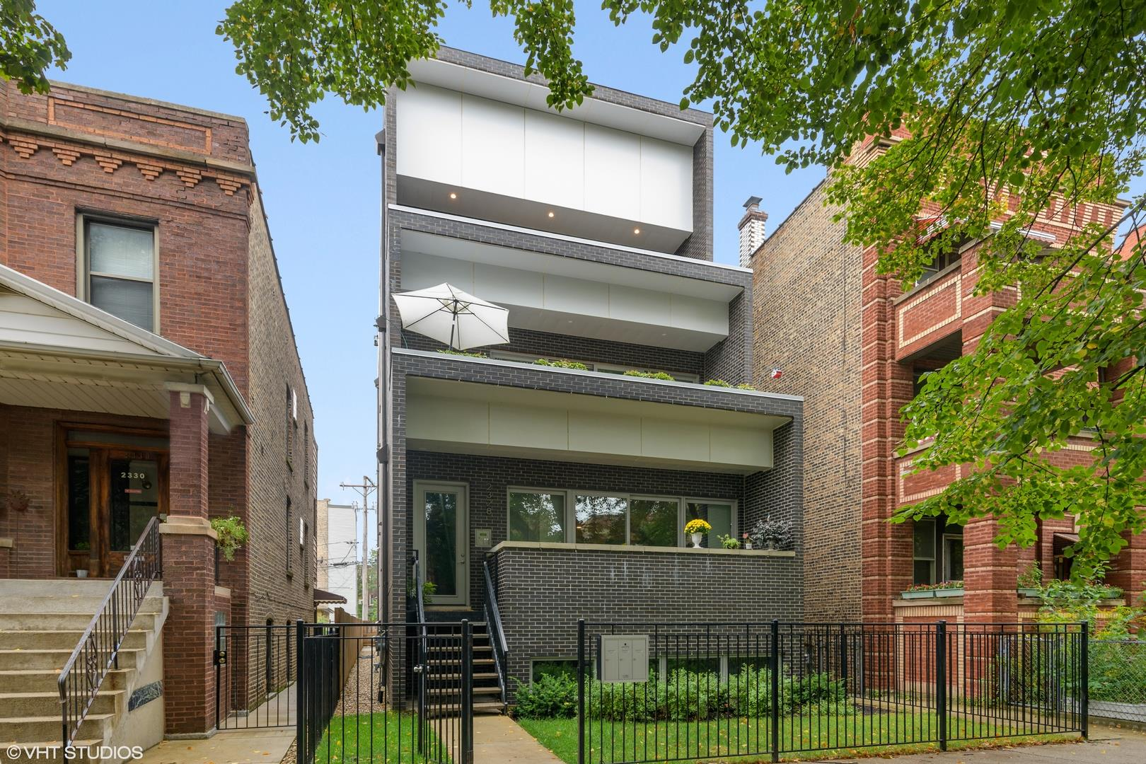 2328 W Rice Street #3, Chicago, IL 60622 - #: 10860676