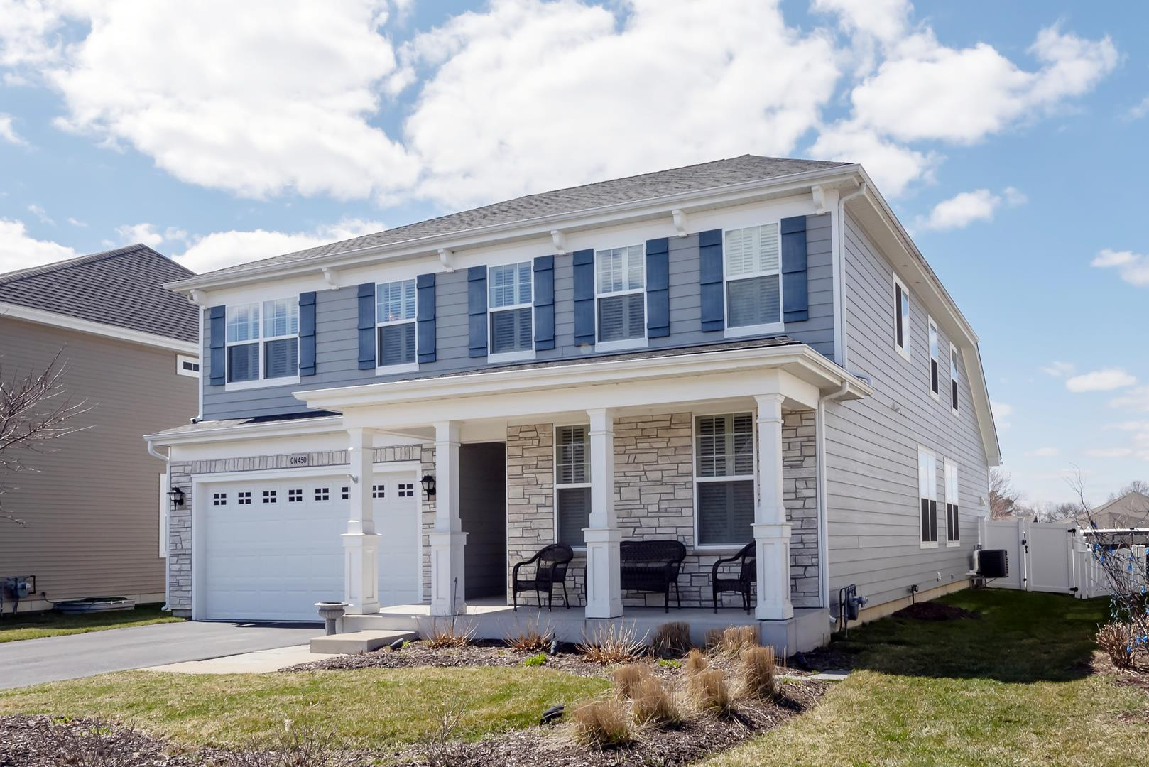 0N450 Silverwood Court, Winfield, IL 60190 - #: 11010706