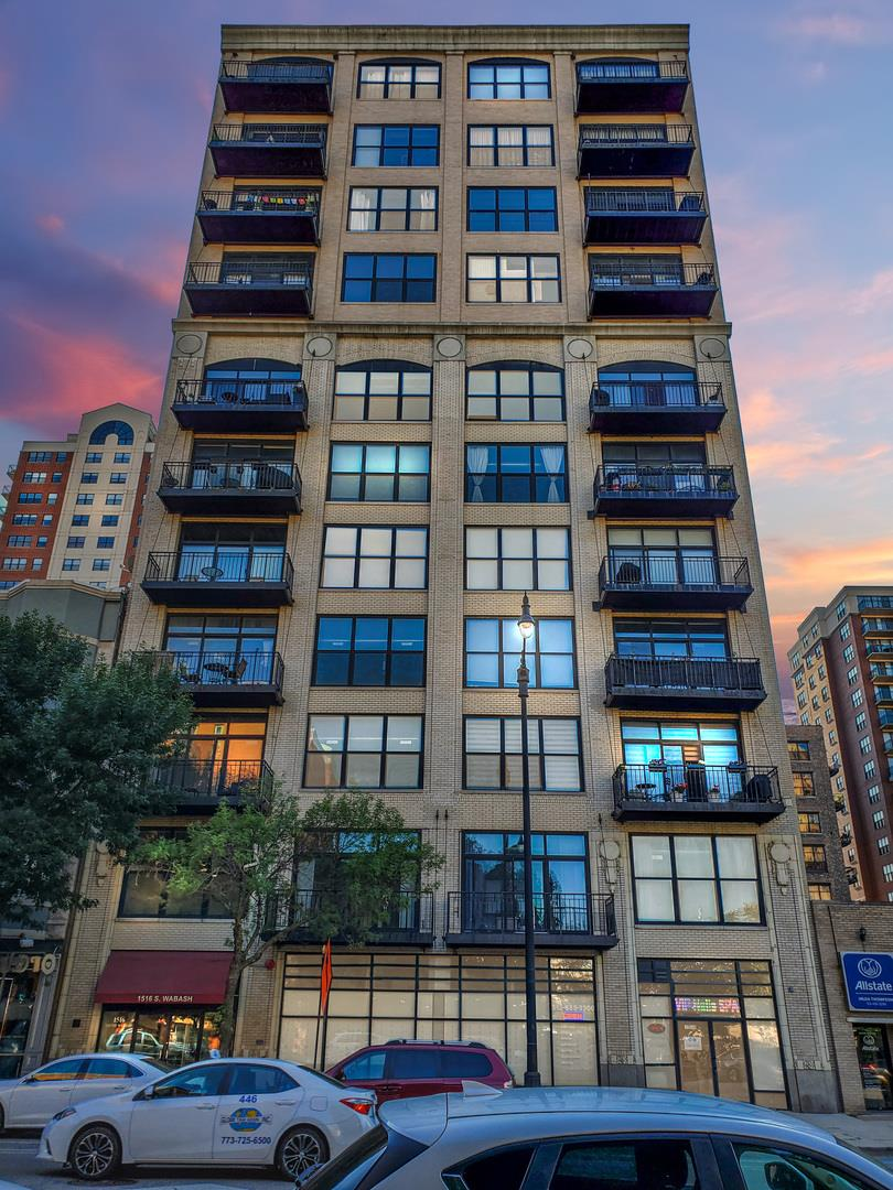 1516 S Wabash Avenue #606, Chicago, IL 60605 - #: 10822714