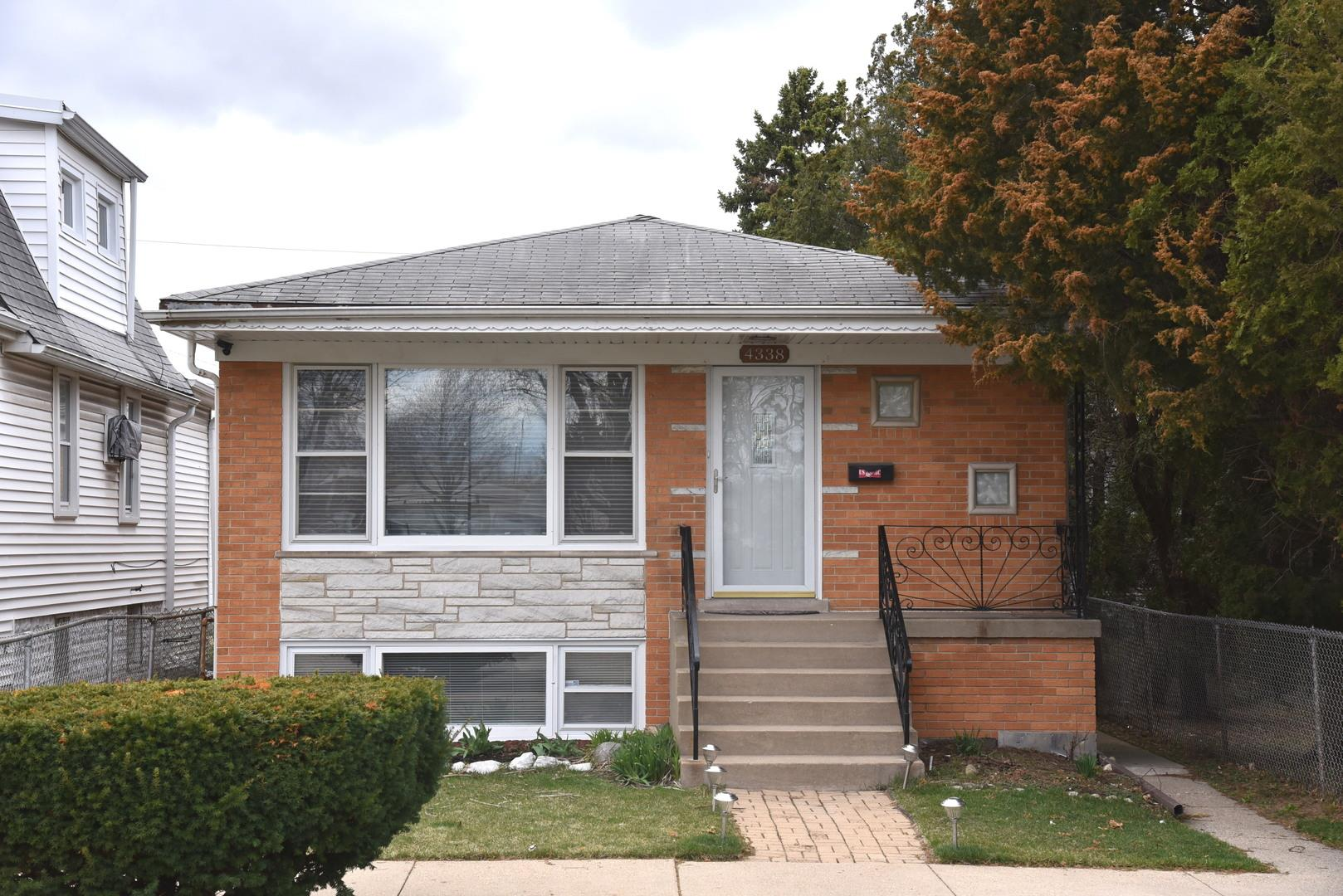 4338 N Rutherford Avenue, Harwood Heights, IL 60706 - #: 11031729