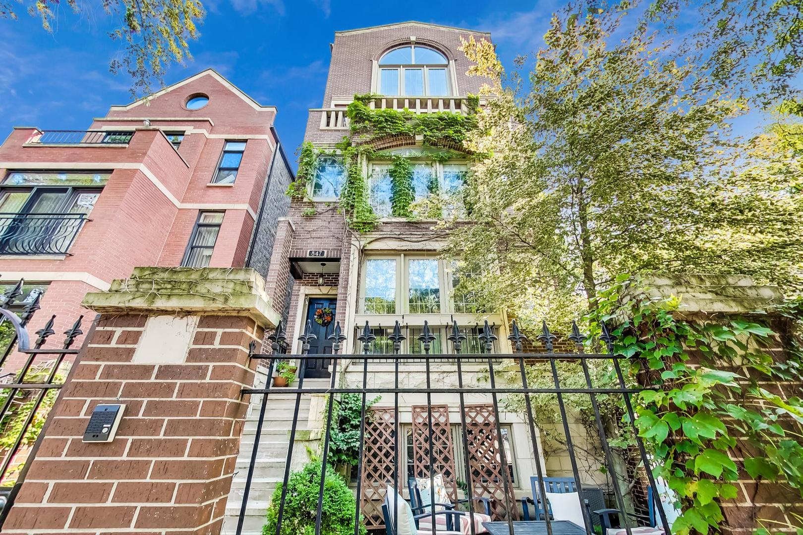 847 N HERMITAGE Avenue #C, Chicago, IL 60622 - #: 10936734