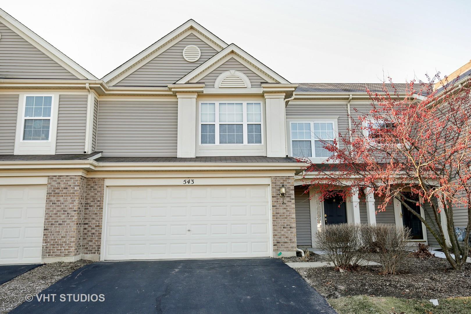 543 Yorkshire Lane, Pingree Grove, IL 60140 - #: 10627739
