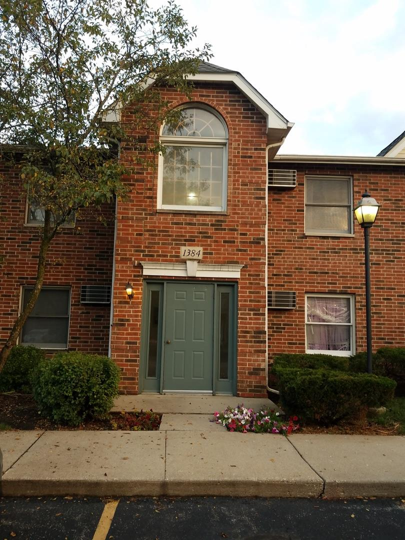 1384 Cunat Court #1A, Lake in the Hills, IL 60156 - #: 10863742