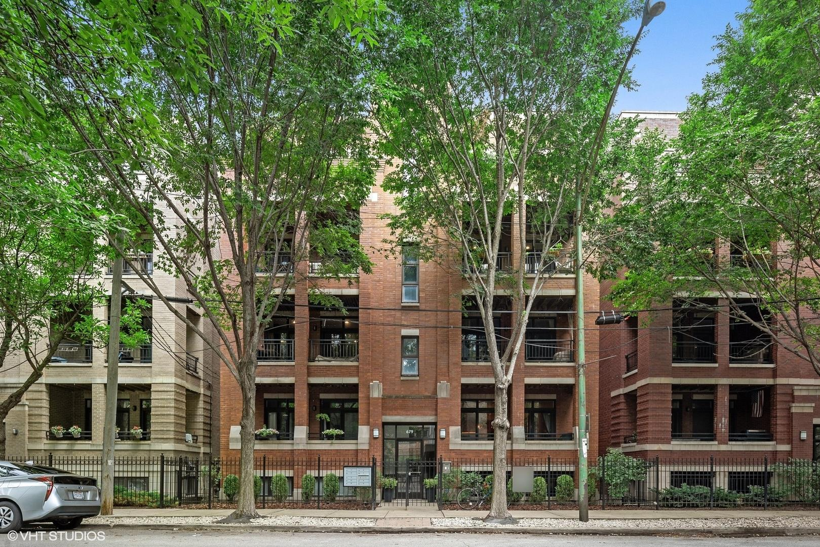 679 N Peoria Street #1S, Chicago, IL 60642 - #: 10877744