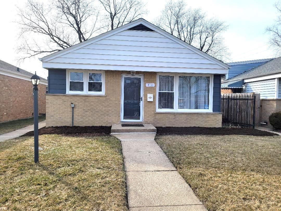 116 EASTERN Avenue, Bellwood, IL 60104 - #: 10923768