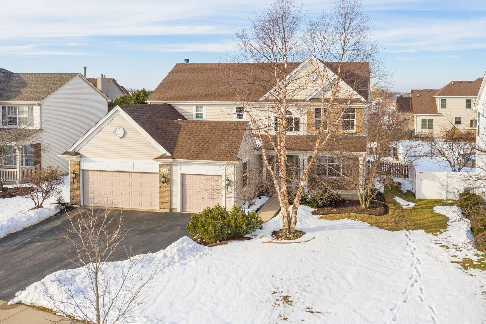 245 Morgan Valley Drive, Oswego, IL 60543 - #: 11005775