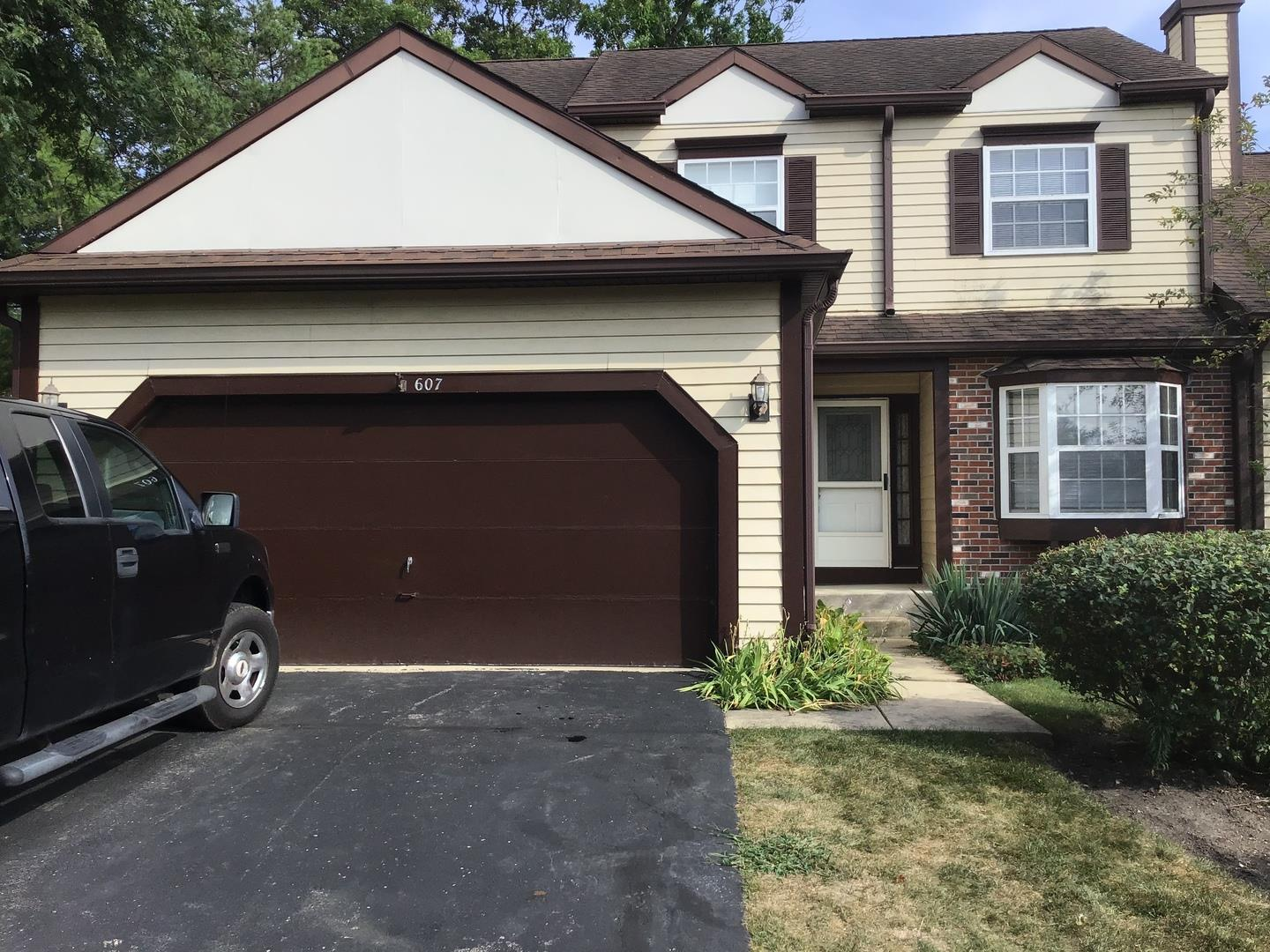 607 ASCOT Lane, Streamwood, IL 60107 - #: 10837789
