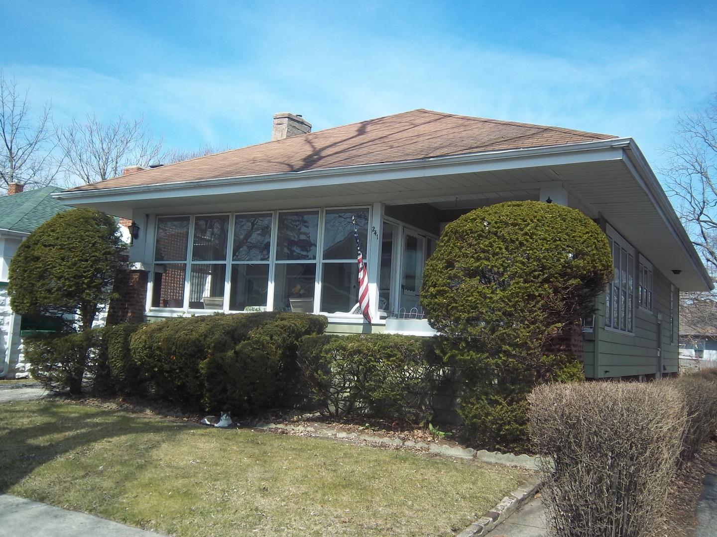241 W 15th Place, Chicago Heights, IL 60411 - #: 10819794