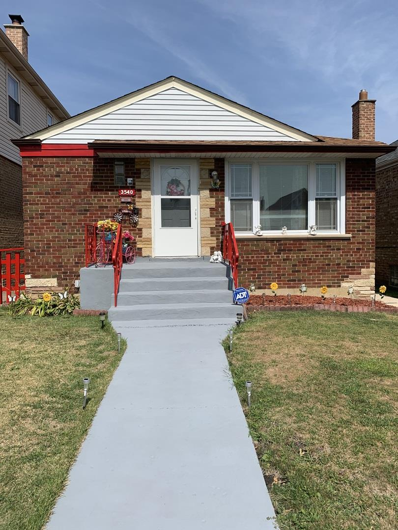 3540 W 73rd Place, Chicago, IL 60629 - #: 10850797