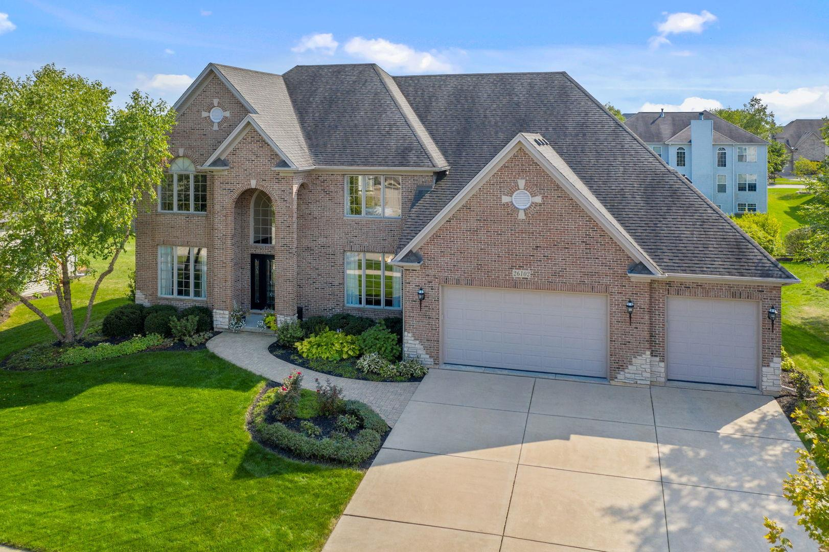 26102 Whispering Woods Circle, Plainfield, IL 60585 - #: 10887797