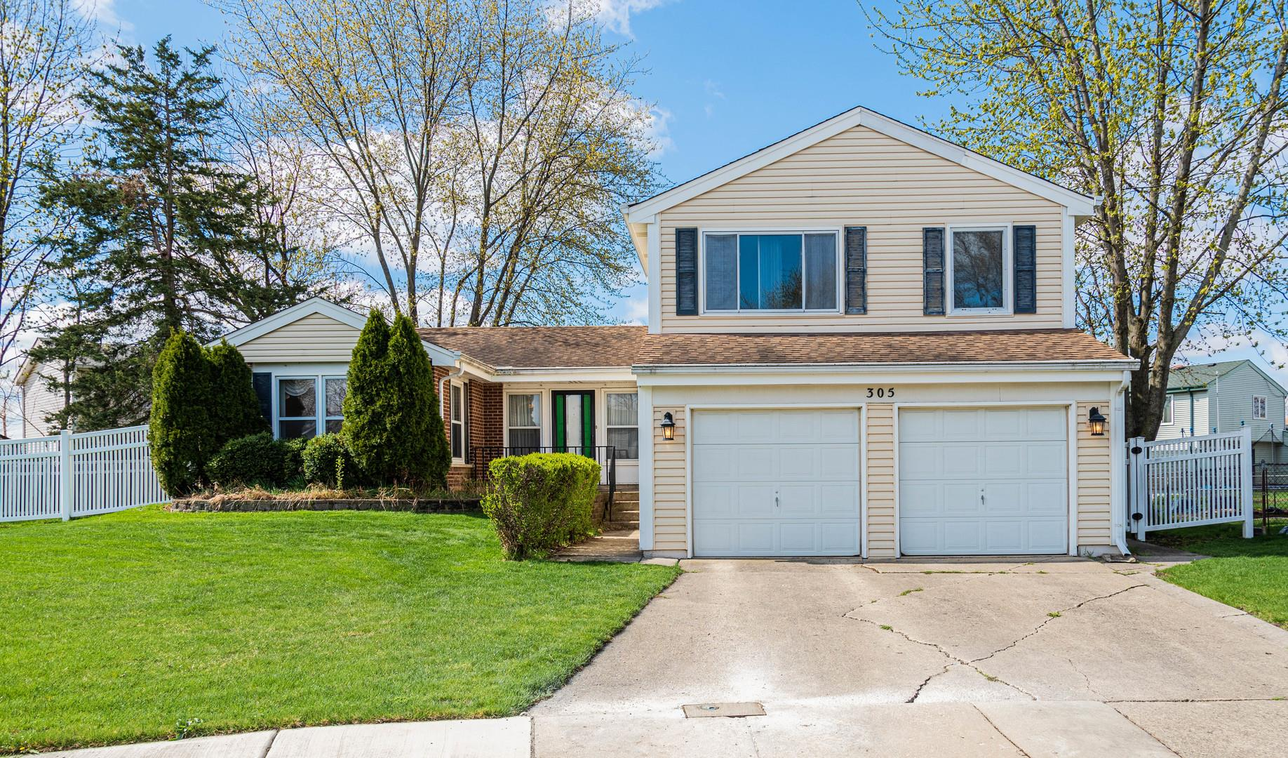 305 Towner Court, Glendale Heights, IL 60139 - #: 11054806