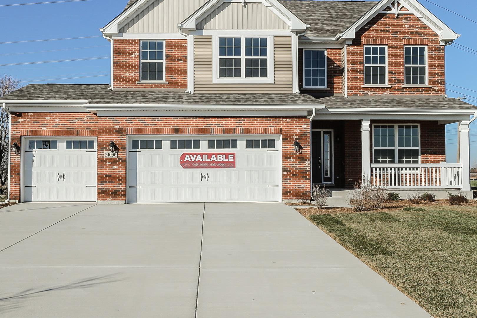 21056 Coventry Lot #36 Circle, Shorewood, IL 60404 - #: 10828811