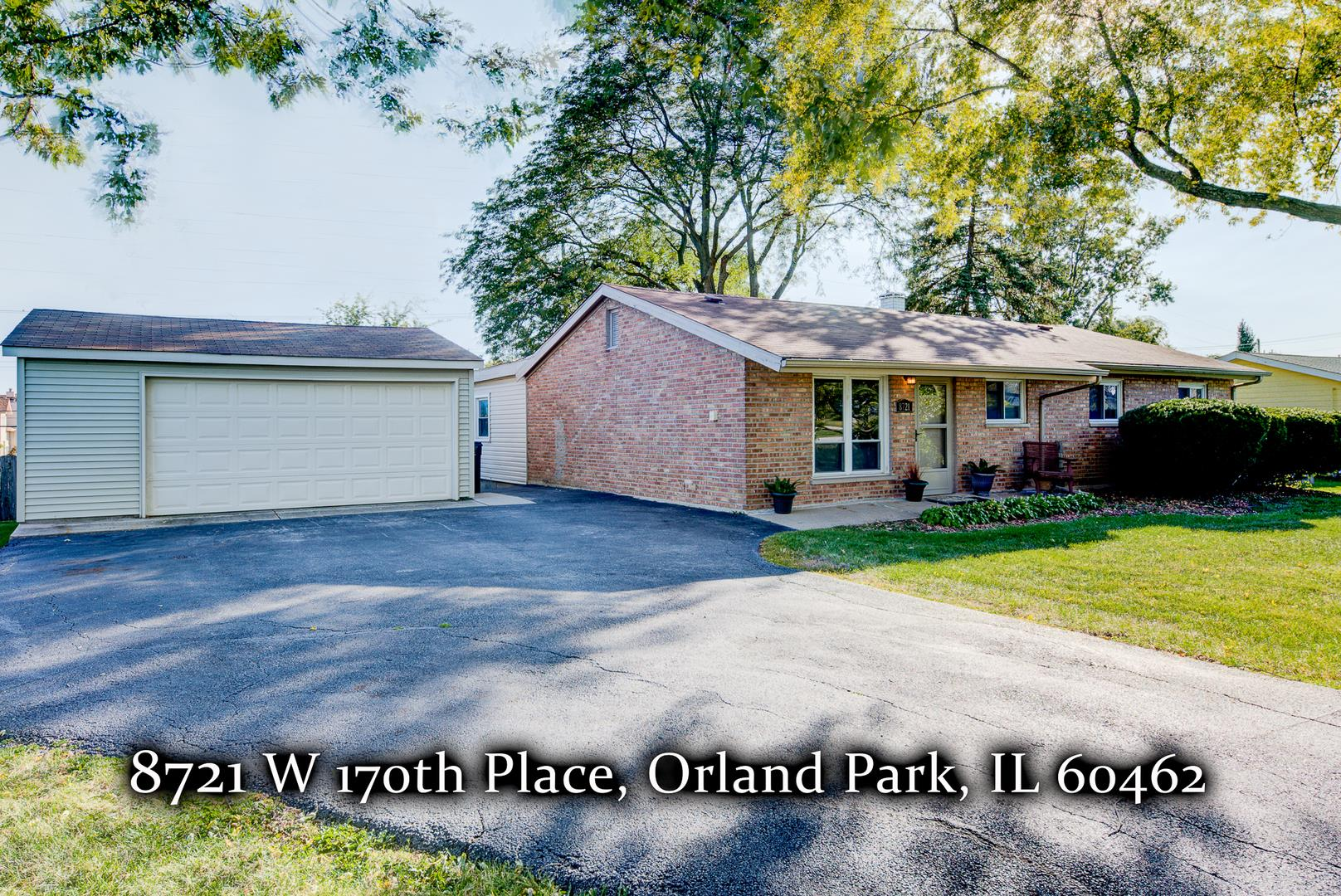8721 W 170th Place, Orland Park, IL 60462 - #: 10661813