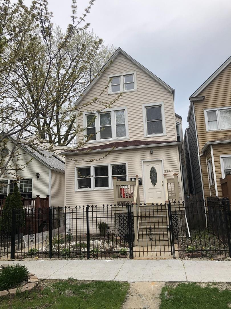 4649 N Springfield Avenue, Chicago, IL 60641 - #: 10707825