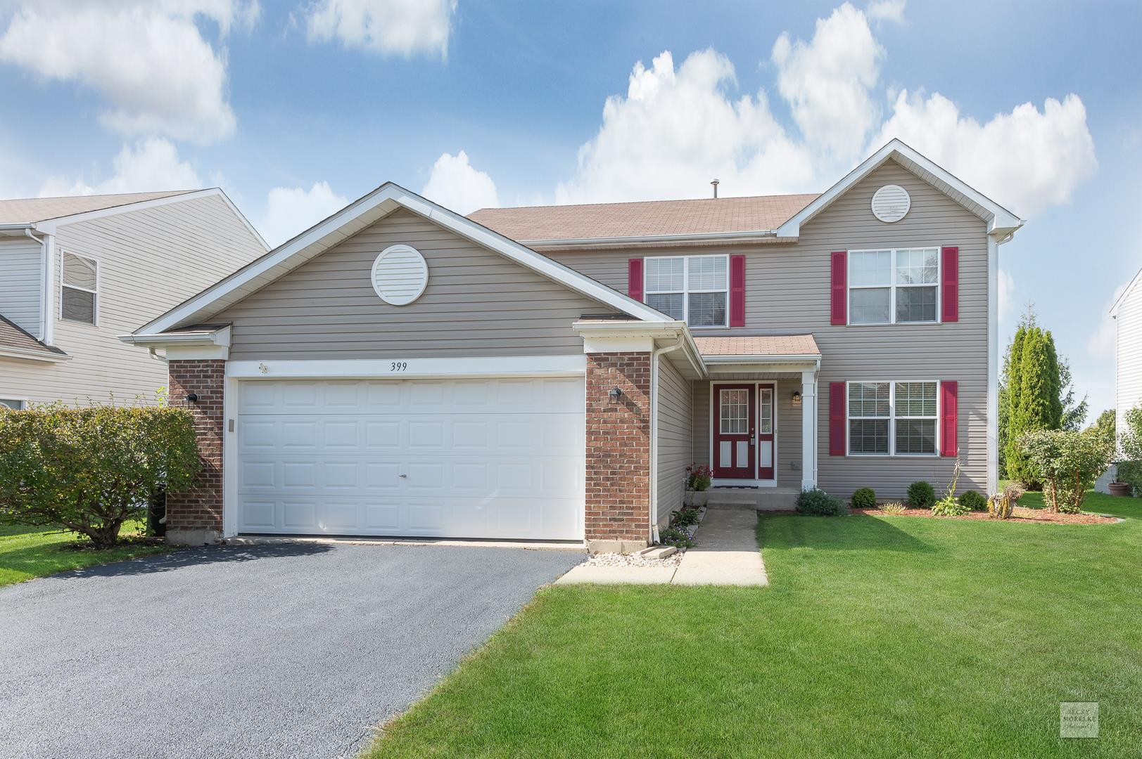 399 Grape Vine Trail, Oswego, IL 60543 - #: 10920835