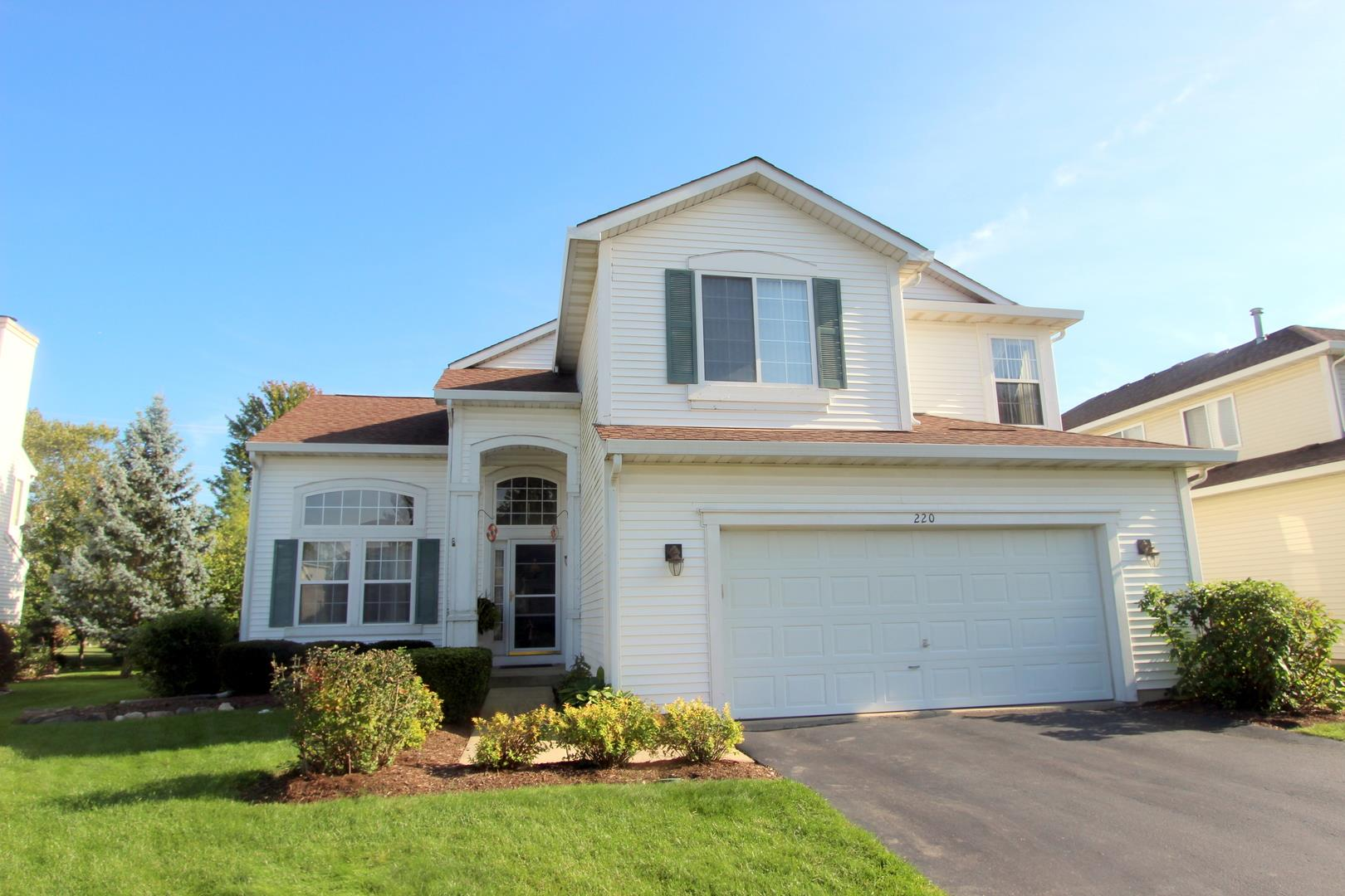 220 Wright Drive, Lake in the Hills, IL 60156 - #: 10636853