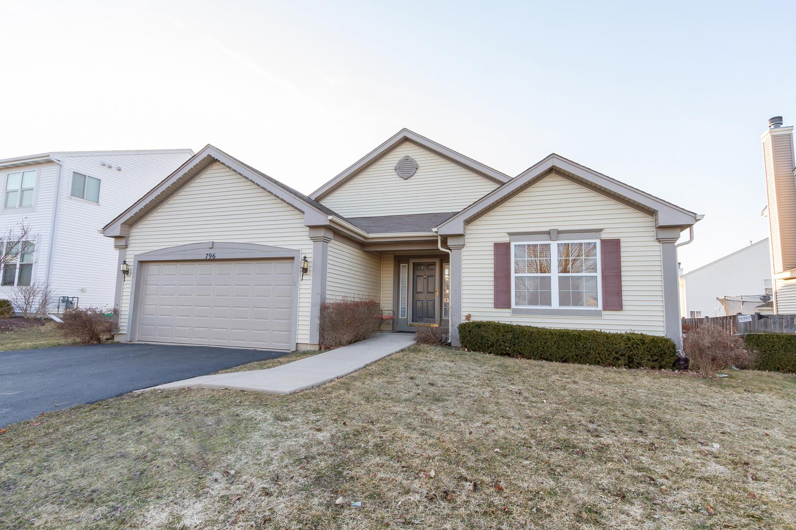 796 Portsmouth Drive, Pingree Grove, IL 60140 - #: 11018854