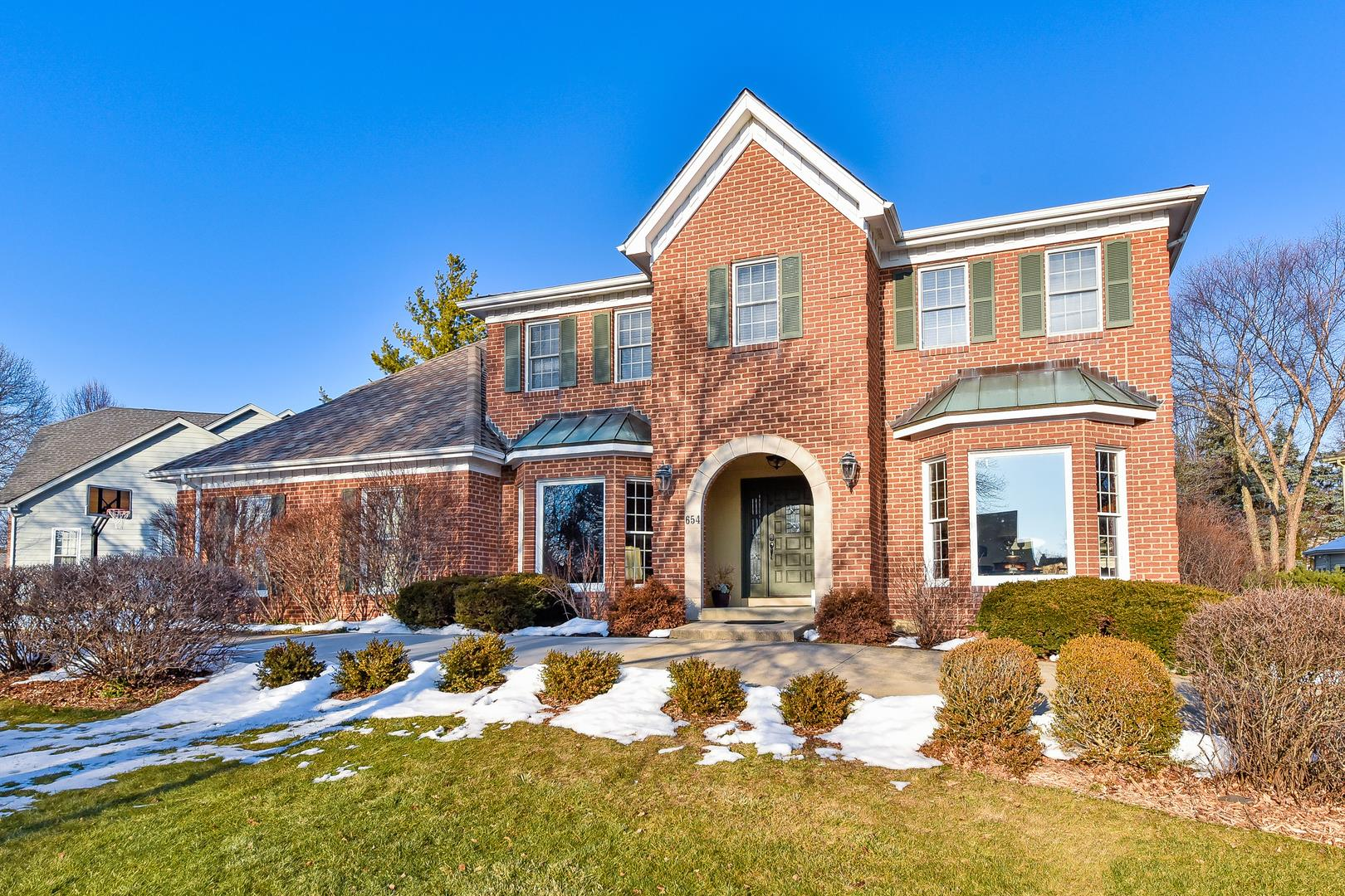 654 Chesterfield Avenue, Naperville, IL 60540 - #: 10894880