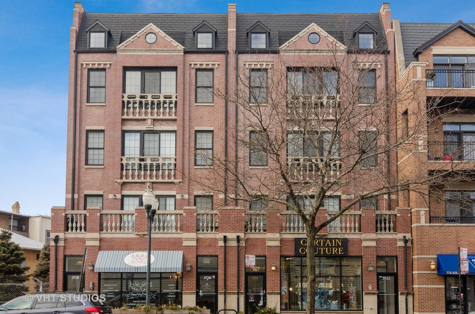 3722 N Lincoln Avenue #3N, Chicago, IL 60613 - #: 10813893