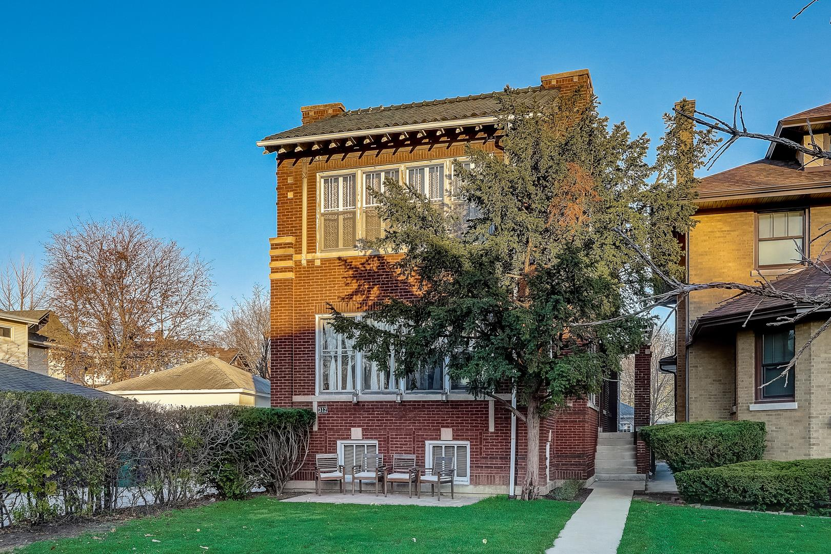 312 S Harvey Avenue, Oak Park, IL 60302 - #: 10934895