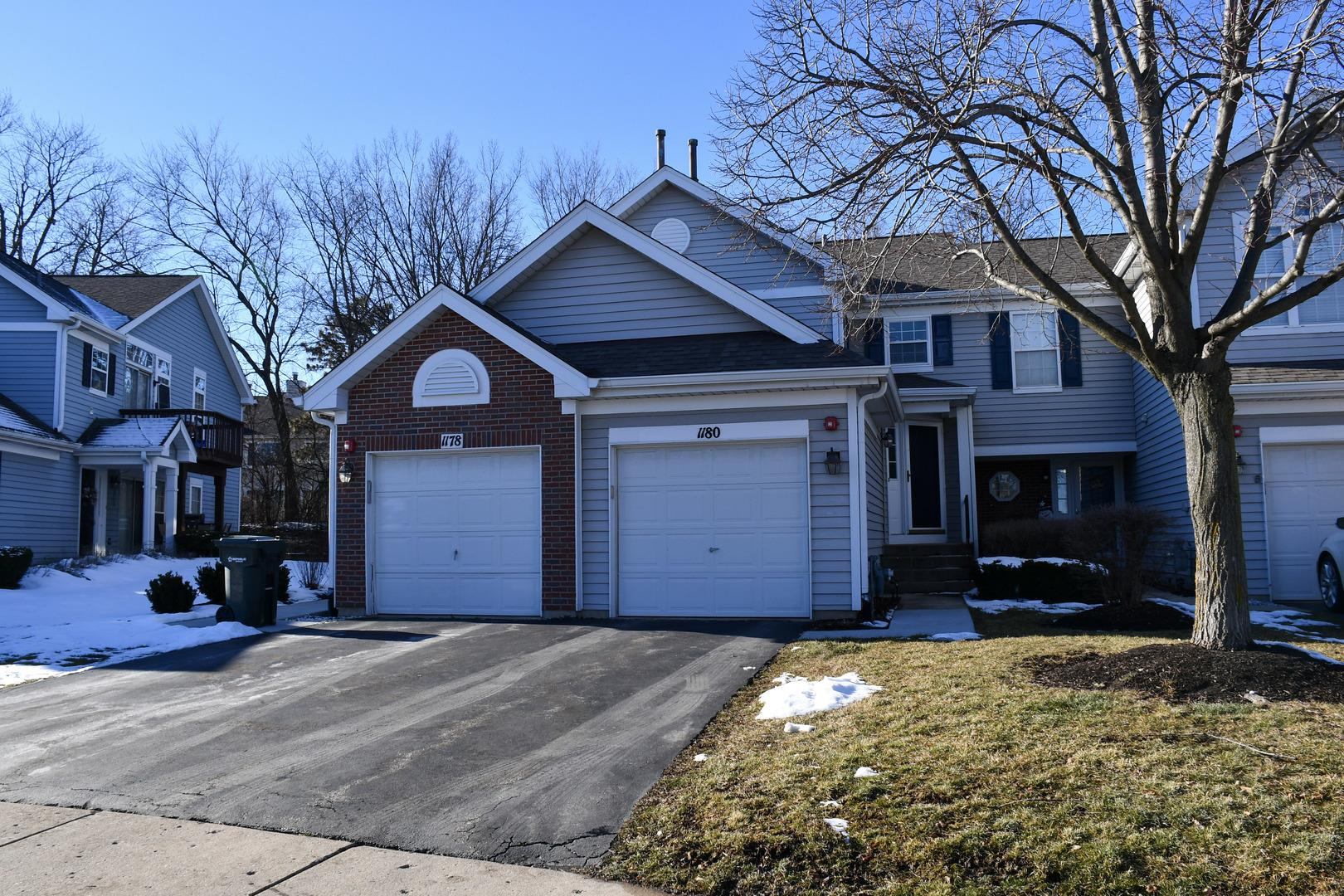 1180 HARBOR Court #1180, Glendale Heights, IL 60139 - #: 10976907