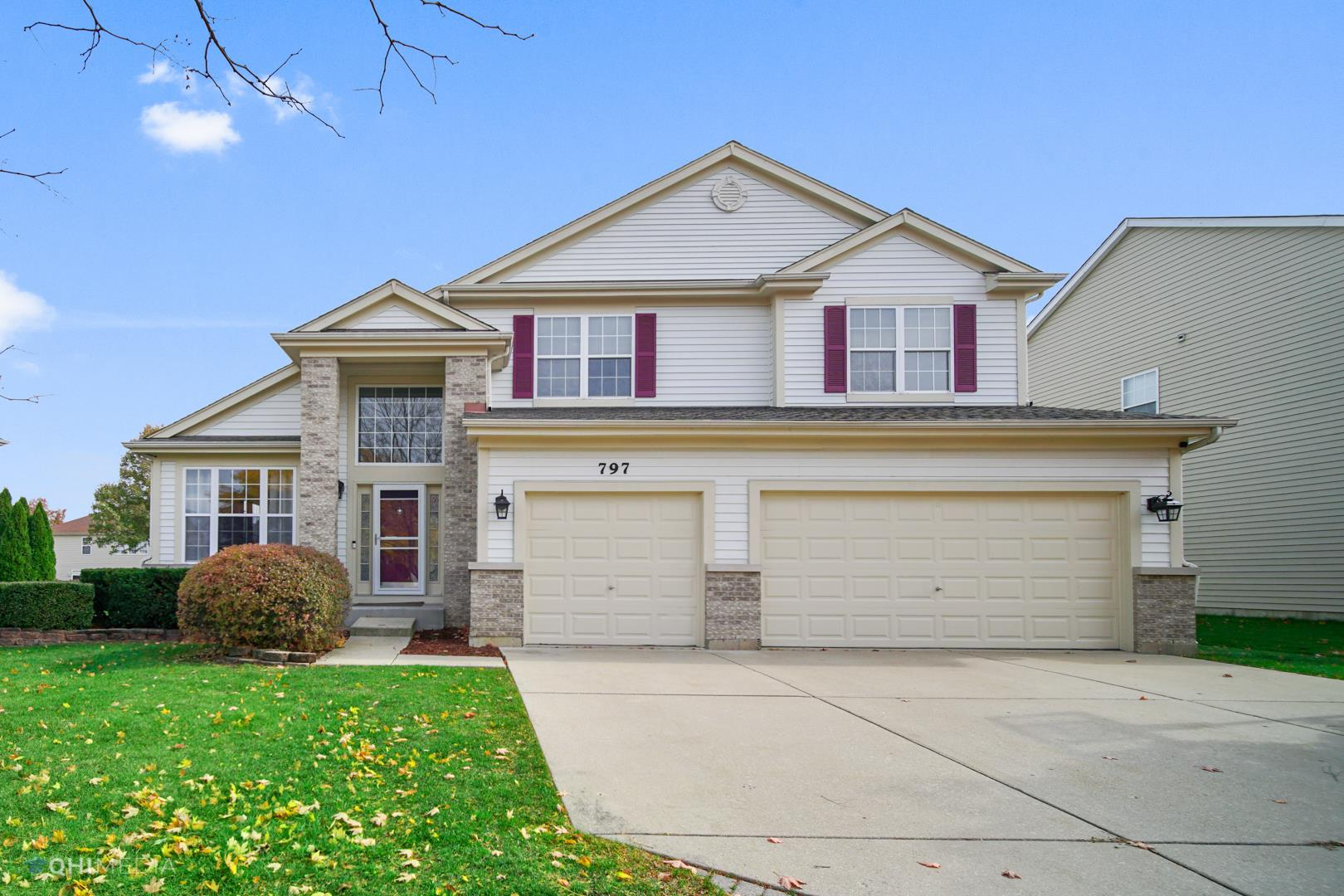 797 Stockbridge Drive, Carol Stream, IL 60188 - #: 10913908