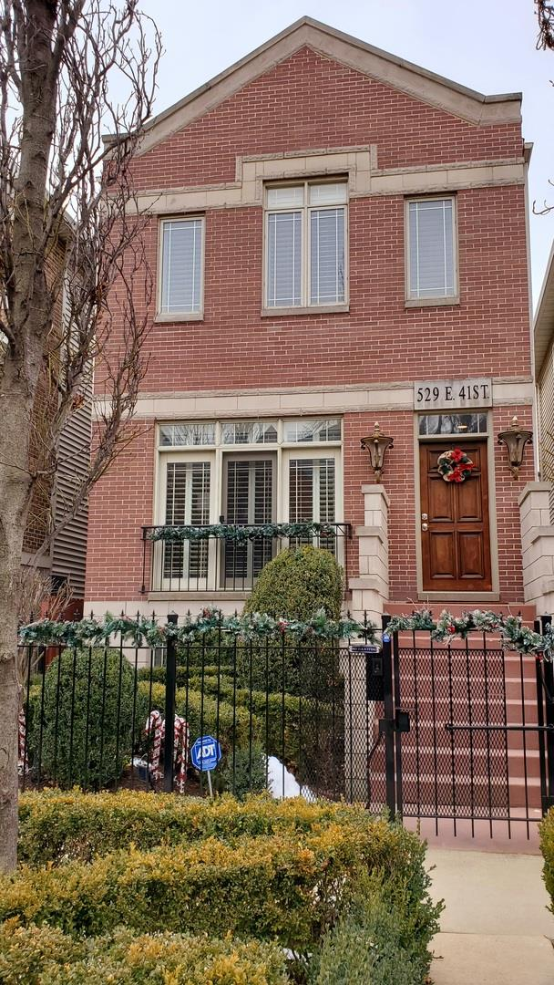 529 E 41st Street, Chicago, IL 60653 - #: 10969914