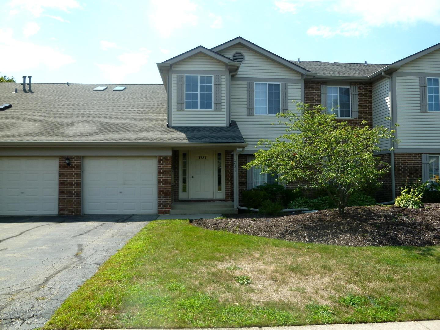 1731 Chesapeake Lane #1, Schaumburg, IL 60193 - #: 10823926