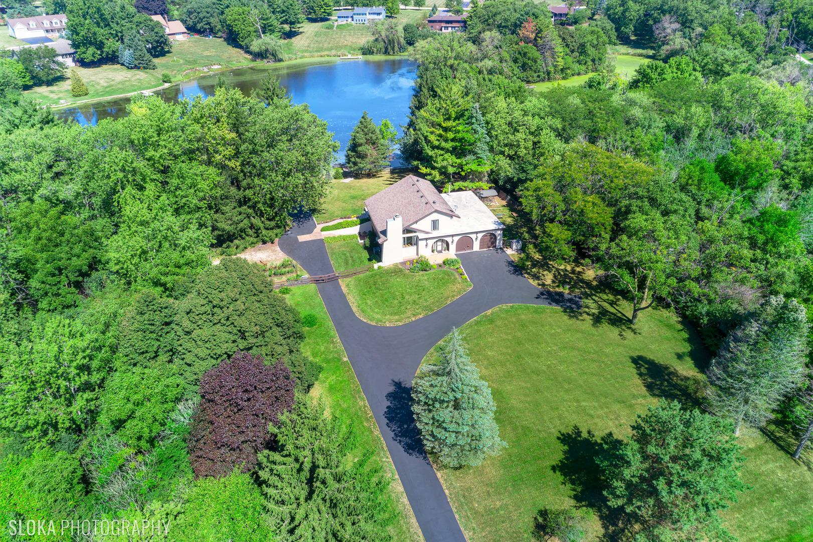 12320 S Lakeview Drive, Huntley, IL 60142 - #: 10852937