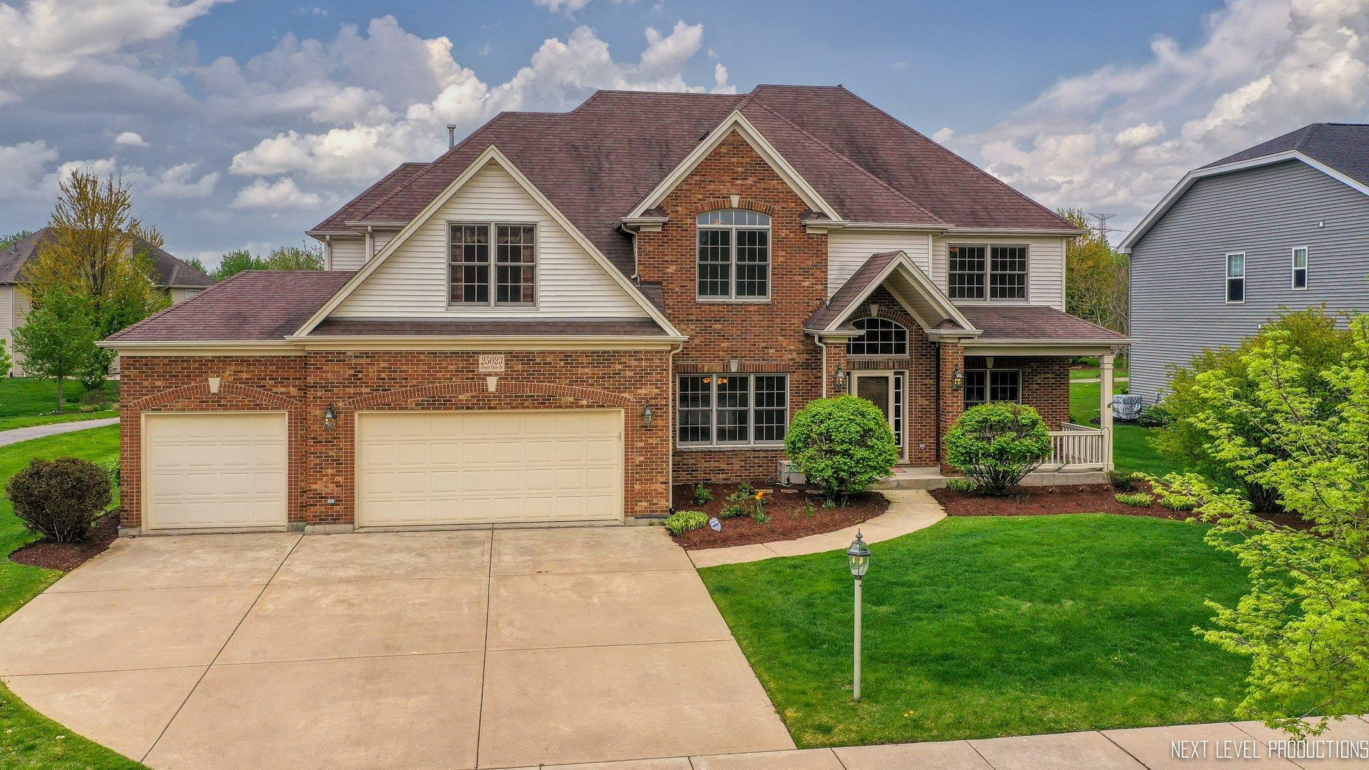 25023 STEEPLE CHASE Drive, Plainfield, IL 60585 - #: 11068950