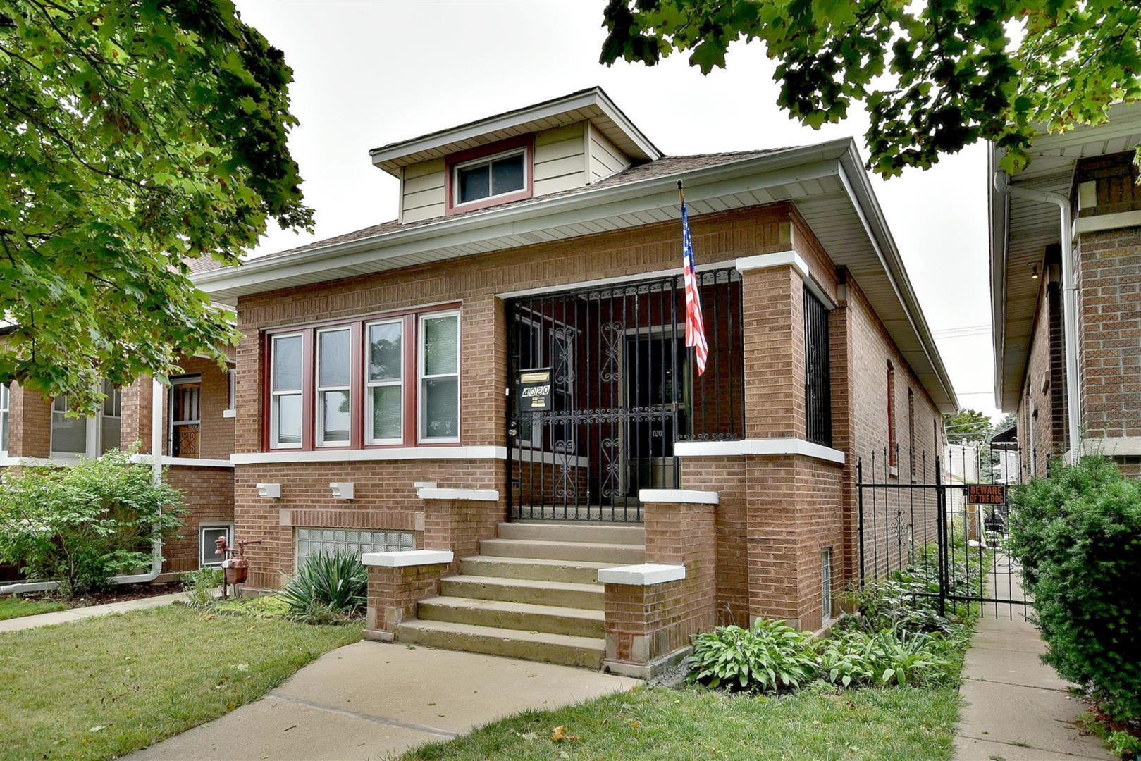 4020 N MARMORA Avenue, Chicago, IL 60634 - #: 10918961