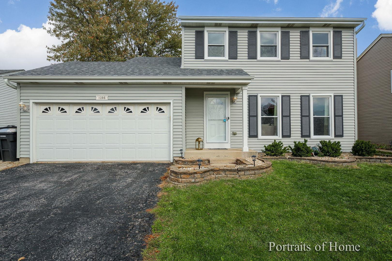1206 Woodland Heights Boulevard, Streamwood, IL 60107 - #: 10915975