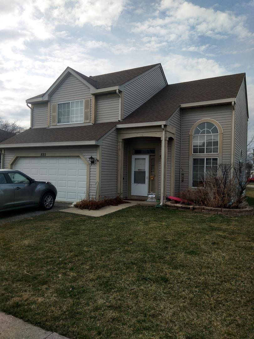885 DOGWOOD Lane, Lake in the Hills, IL 60156 - #: 11037976