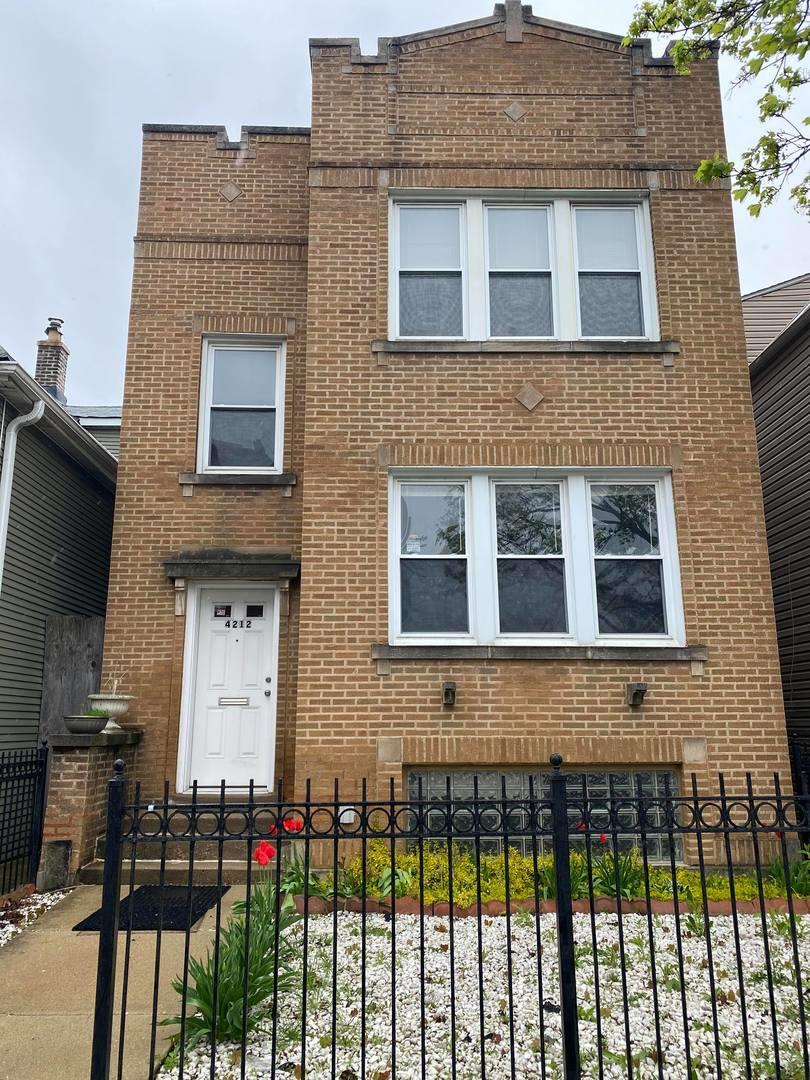 4212 N Kimball Avenue #2, Chicago, IL 60618 - #: 10708981