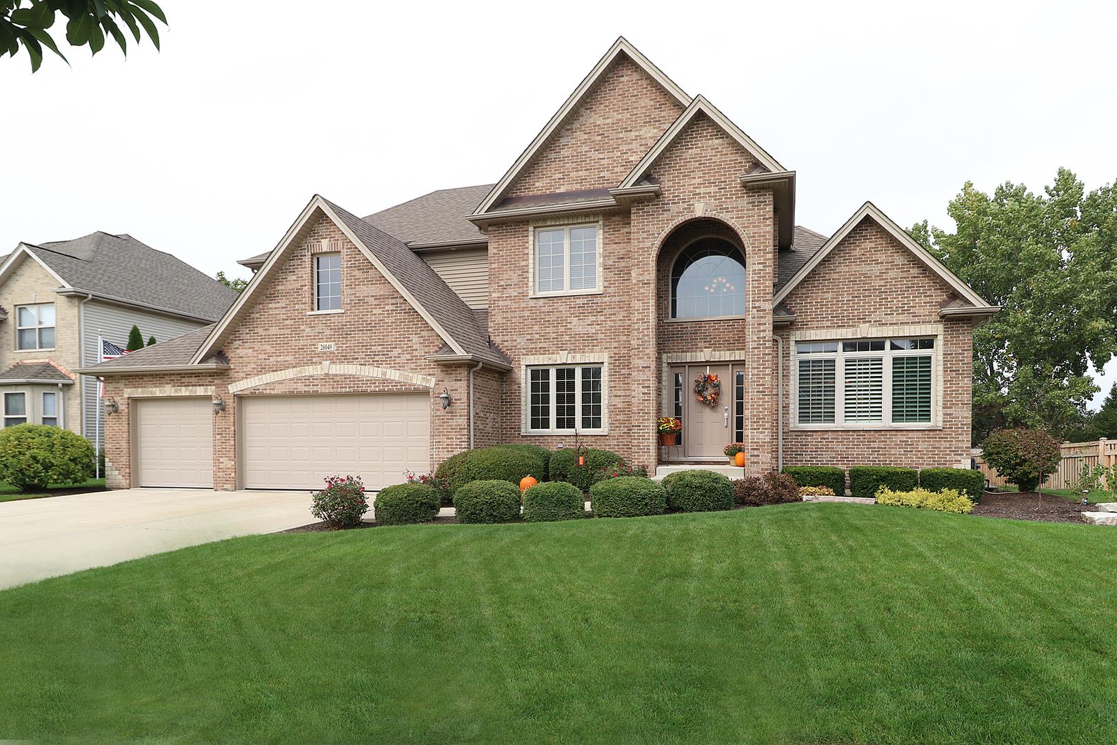 26049 Whispering Woods Circle, Plainfield, IL 60585 - #: 10885986